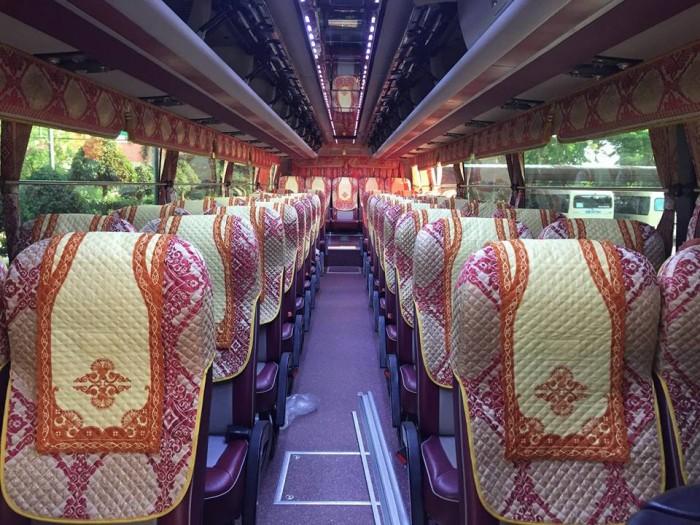 Bán Áo Bọc ghế Xe Samco, xe huimdai, xe Daewoo 16 chỗ 47 chỗ 6