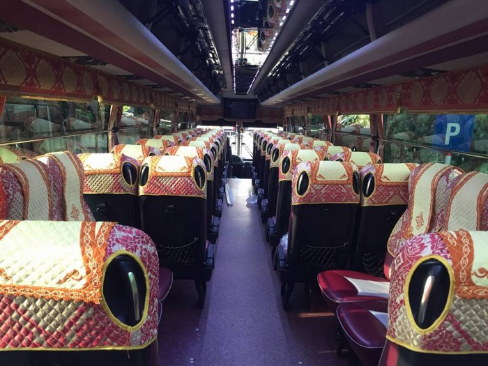Bán Áo Bọc ghế Xe Samco, xe huimdai, xe Daewoo 16 chỗ 47 chỗ 9