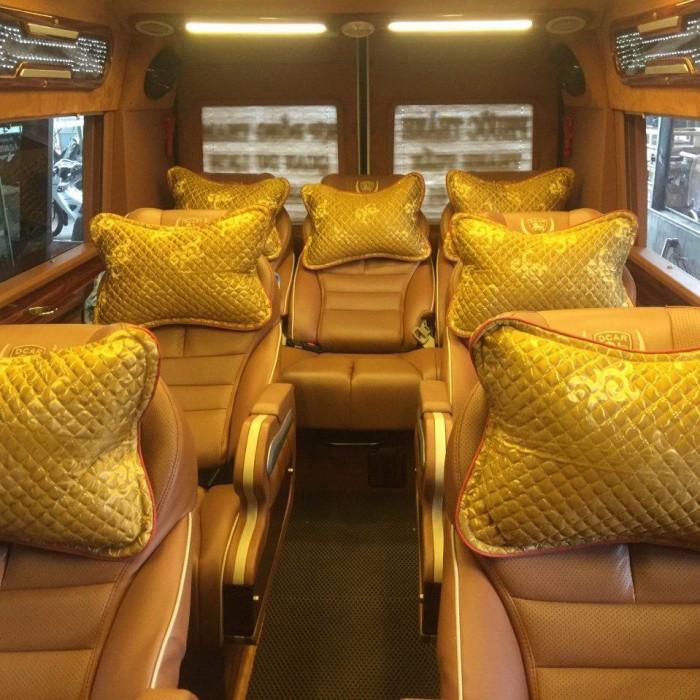 Bán Áo Bọc ghế Xe Samco, xe huimdai, xe Daewoo 16 chỗ 47 chỗ 5