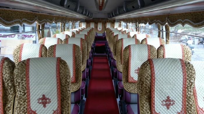 Bán Áo Bọc ghế Xe Samco, xe huimdai, xe Daewoo 16 chỗ 47 chỗ 2