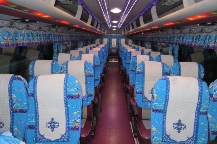 Bán Áo Bọc ghế Xe Samco, xe huimdai, xe Daewoo 16 chỗ 47 chỗ 4