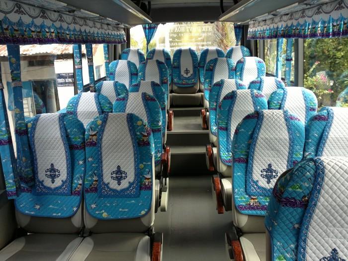 Bán Áo Bọc ghế Xe Samco, xe huimdai, xe Daewoo 16 chỗ 47 chỗ 3