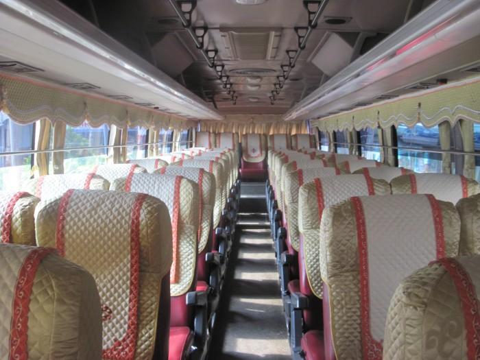 Bán Áo Bọc ghế Xe Samco, xe huimdai, xe Daewoo 16 chỗ 47 chỗ 1