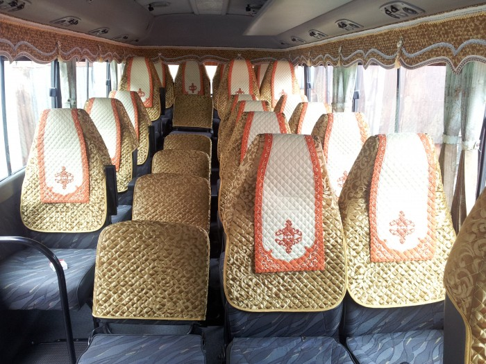 Bán Áo Bọc ghế Xe Samco, xe huimdai, xe Daewoo 16 chỗ 47 chỗ 0
