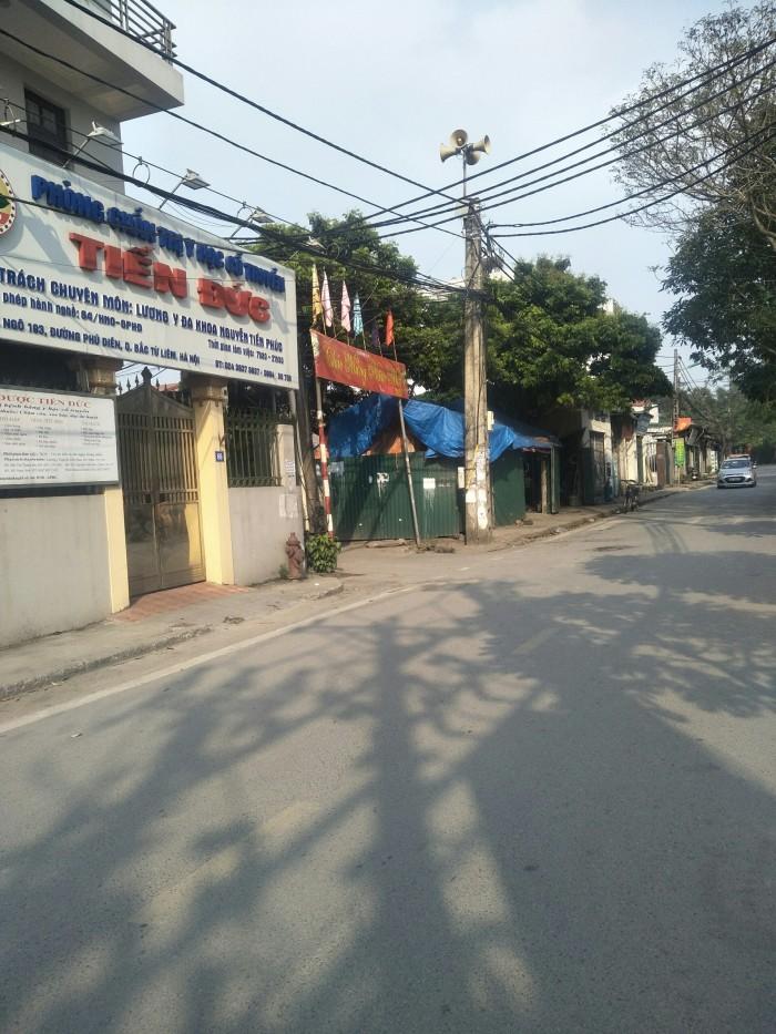 Gia đình cần bán 39m2 đất thổ cư sđcc ở Phú Diễn