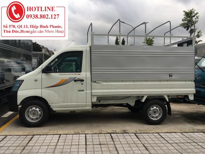 Xe tải thùng lửng, tải thaco, thaco towner, tấn 900kg, towner 800