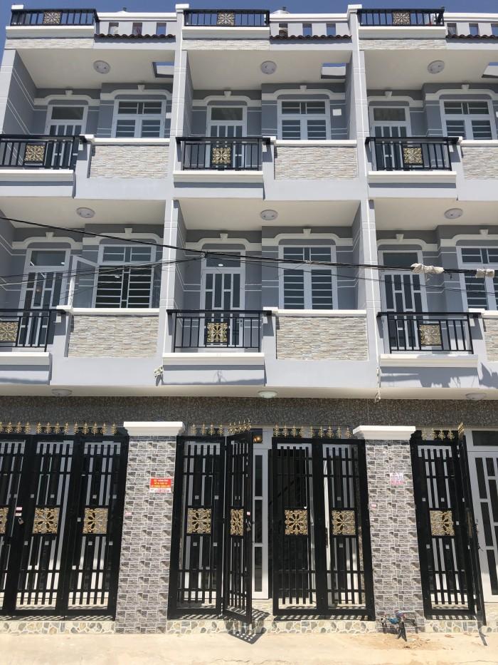 Bán nhà đường Nguyễn Bình, Phú Xuân, Nhà Bè, DT 3,8m x 12m, 2 lầu, 4 PN, đường xe hơi