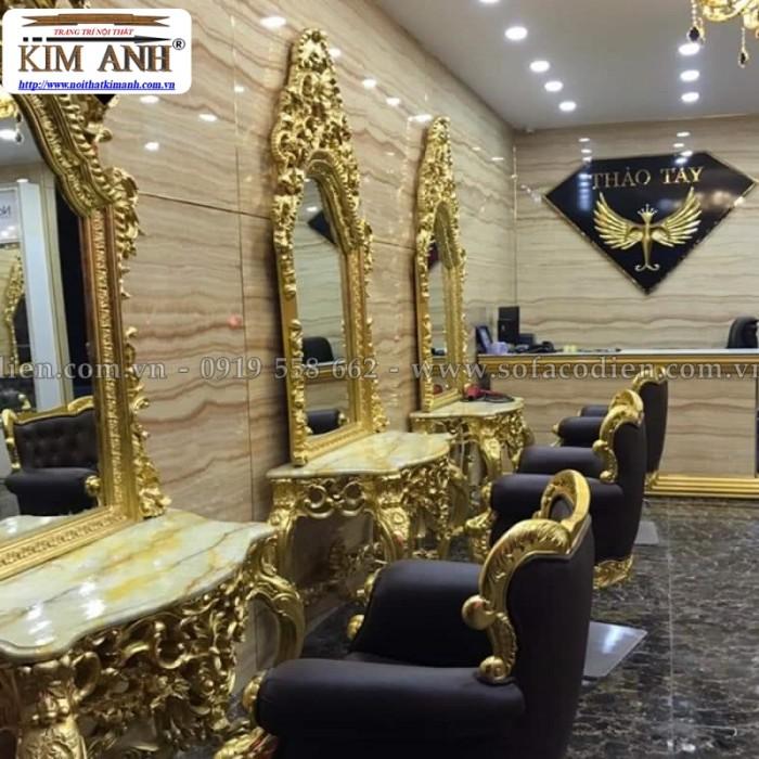 [11] Nơi bán ghế cắt tóc nữ cao cấp cổ điển hoàng gia giá rẻ