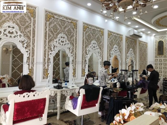 [12] Nơi bán ghế cắt tóc nữ cao cấp cổ điển hoàng gia giá rẻ