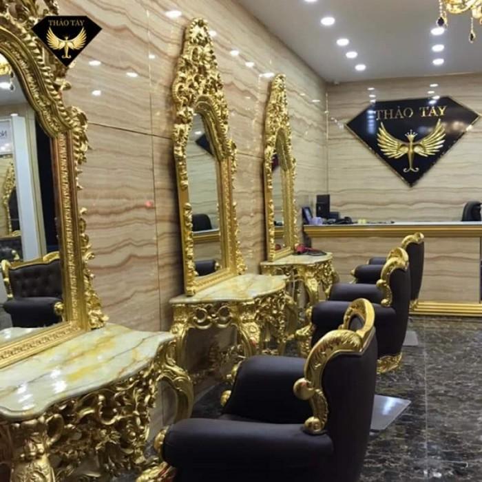 [19] Nơi bán ghế cắt tóc nữ cao cấp cổ điển hoàng gia giá rẻ