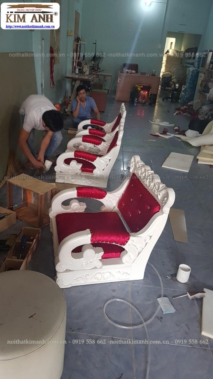 [20] Nơi bán ghế cắt tóc nữ cao cấp cổ điển hoàng gia giá rẻ