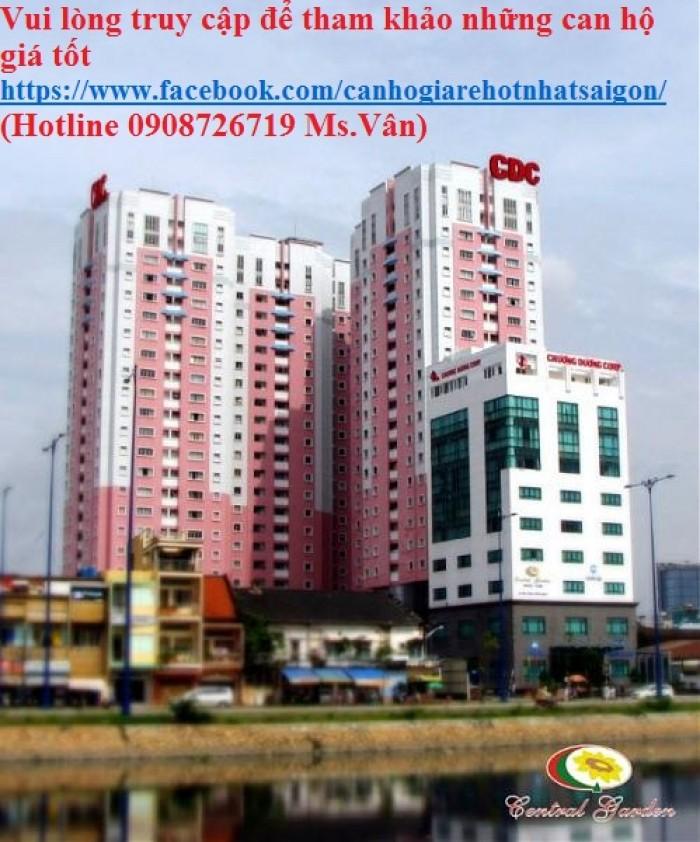 Cần bán gấp penhouse căn hộ Central garden Q1, Diện tích 157m2, 1 trệt , 1 lầu, 3 phòng ngủ, sổ hồng