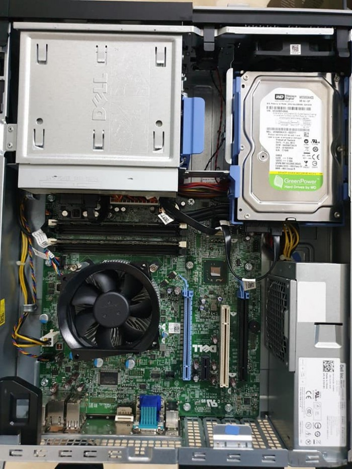 Bán CASE DELL 7010 CPU Co i3 2100 ram 4G DDR3 HDD 250G0