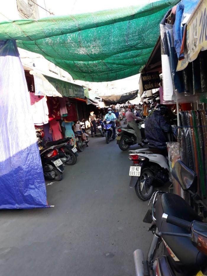 Bán nhà 1 triệt 2 lầu chợ cầu xáng xã Phạm Văn Hai, Bình Chánh