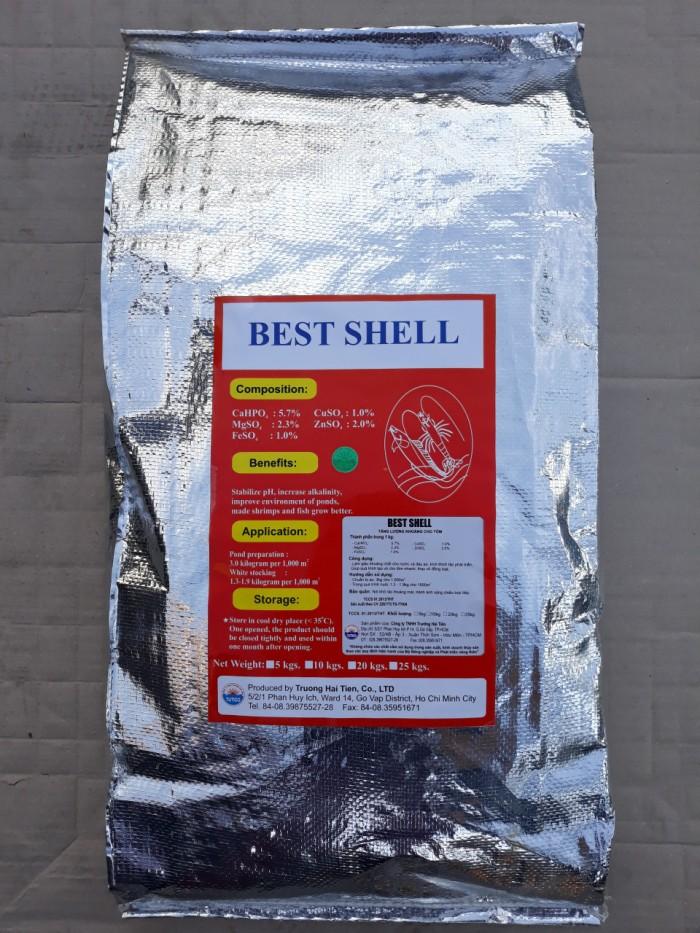 BEST SHELL: Khoáng Tạt Dạng Hạt, giá tốt nhốt Công dụng - Làm giàu khoáng chất...