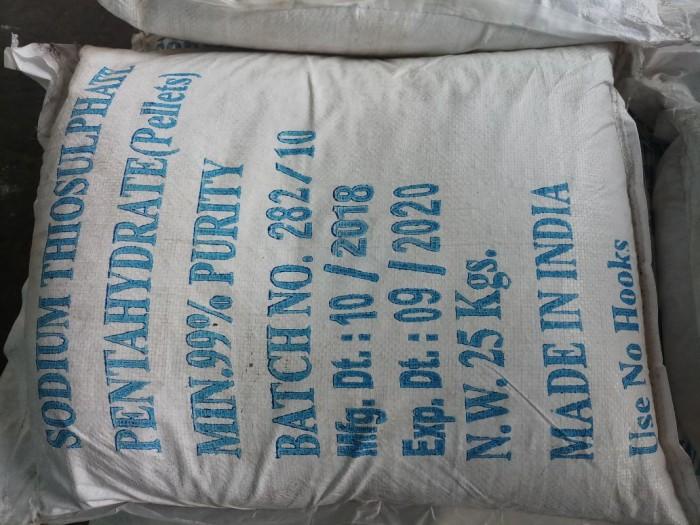 SODIUM THIOSULPHATE: Khử Chlorine và giảm kim loại nặng Thành phần:  Na2S2O3.5H2O 99%...