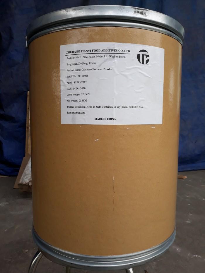 CALCIUM GLUCONAT: Bổ sung canxi Xuất Xứ: Trung quốc Quy cách: 25kg/thùng