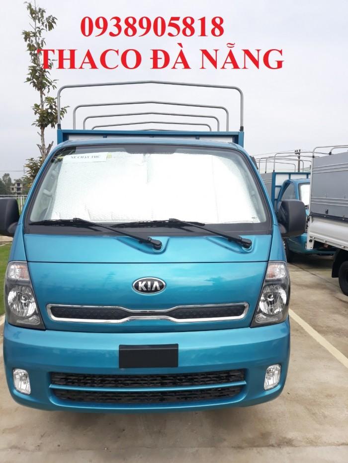 Xe tải Kia thùng bạt trường hải 1 tấn 4 và 2 tấn 4 tại Đà Nẵng