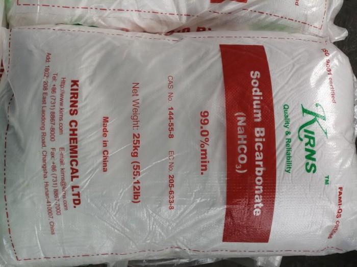 Bicarbonate (NaHCO3): Soda lạnh, tăng độ kiềm , giúp tôm mau cứng vỏ Xuất xứ: Tru...