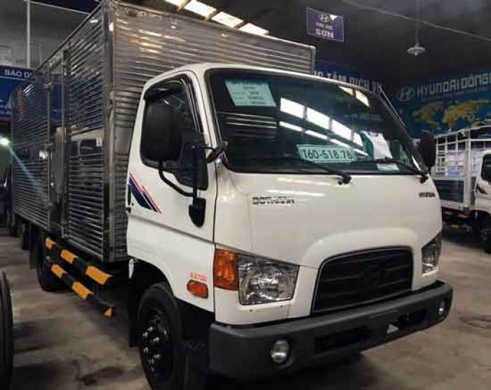 Xe Tải Hyundai 6.3 Tấn Thùng Kín – Hd99