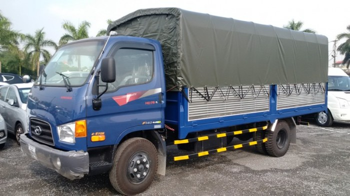 Xe tải Hyundai 8 tấn thùng mui bạt-HD120SL