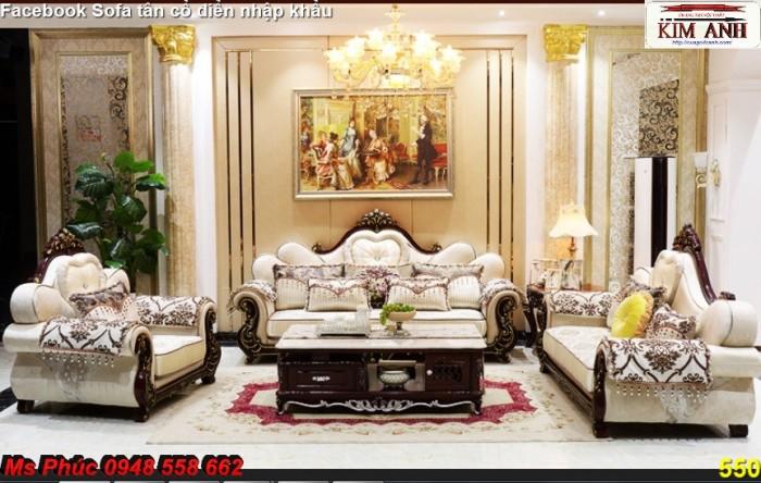 Thanh lý gấp các mẫu sofa cổ điển châu âu góc L thu hồi vốn, hàng chính hãng, chất lượng, bảo hành 4 năm26