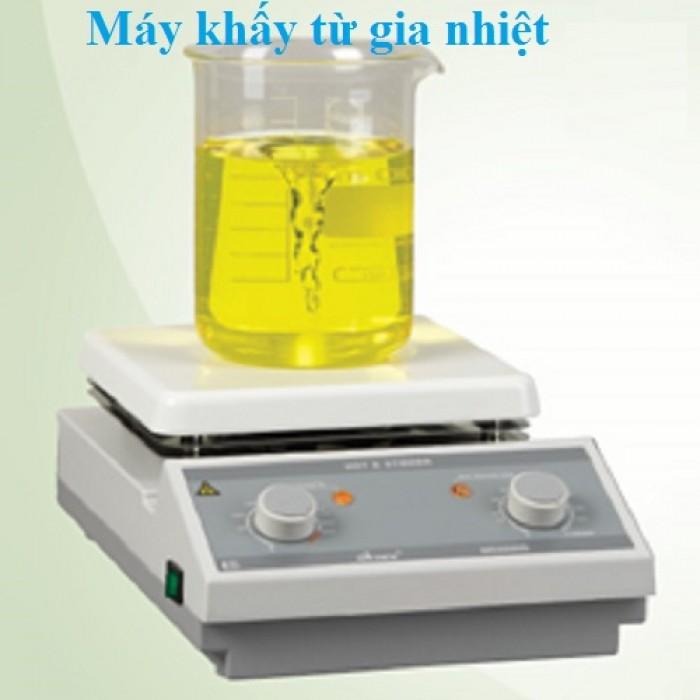 MODEL: HS15  - Máy khuấy từ gia nhiệt dùng cho phòng thí nghiệm sản xuất theo tiêu...