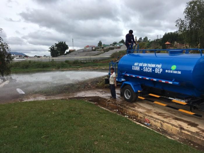 Bán xe téc phun nước tưới cây rửa đường 7 khối Ollin 700c 3