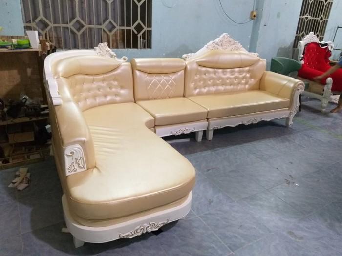 sofa L cổ điển4