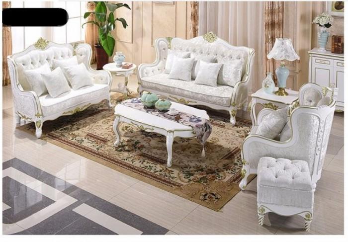 sofa cổ điển màu trắng0