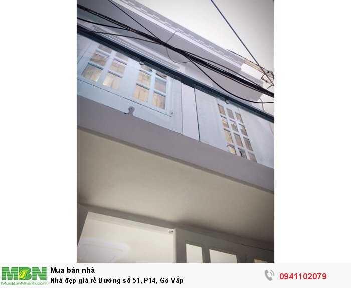Nhà đẹp giá rẻ Đường số 51, P14, Gò Vấp