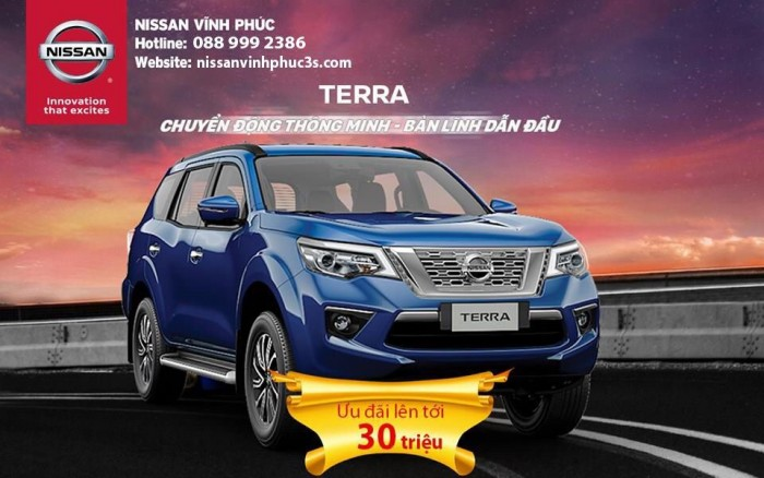 Nissan Terra 7 chỗ