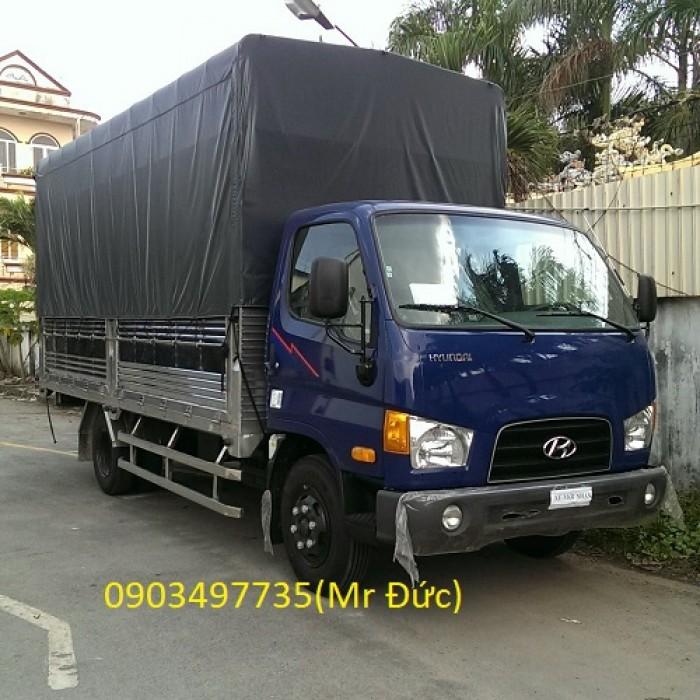 Hyundai 3.5 tấn mui bạt – HD72 trả trước 20%-30% 2