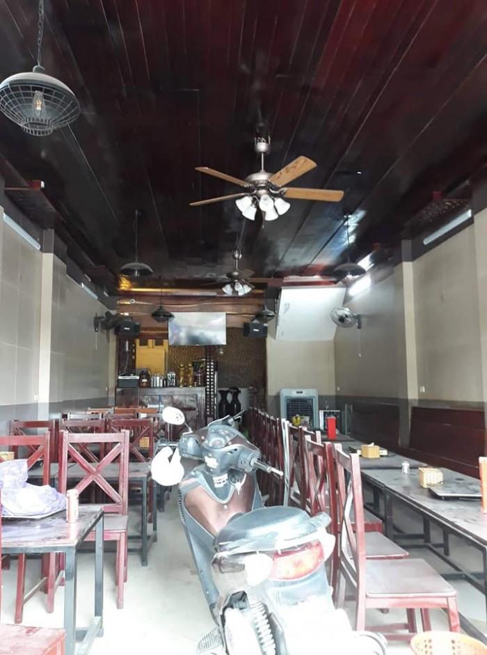 Bán nhà mặt phố Kim Giang 5 tầng Mặt tiền rộng vỉa hè Kinh doanh