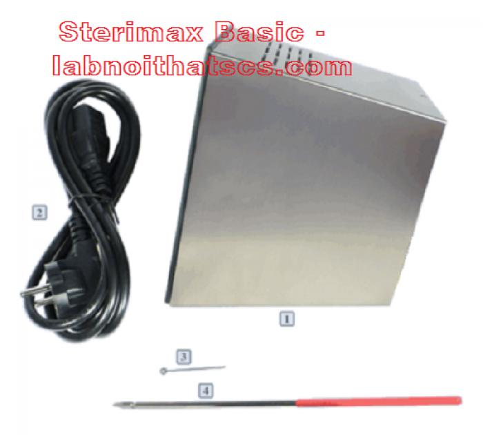 Máy tiệt trùng que cấy Sterimax Basic - Đức1