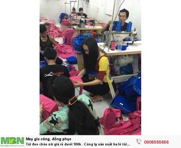 Phân xưởng sản xuất túi xách, balo theo yêu cầu từ BaloTuiXach