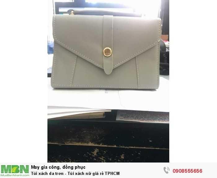 Túi xách da trơn đơn giản - Túi xách nữ giá rẻ TPHCM