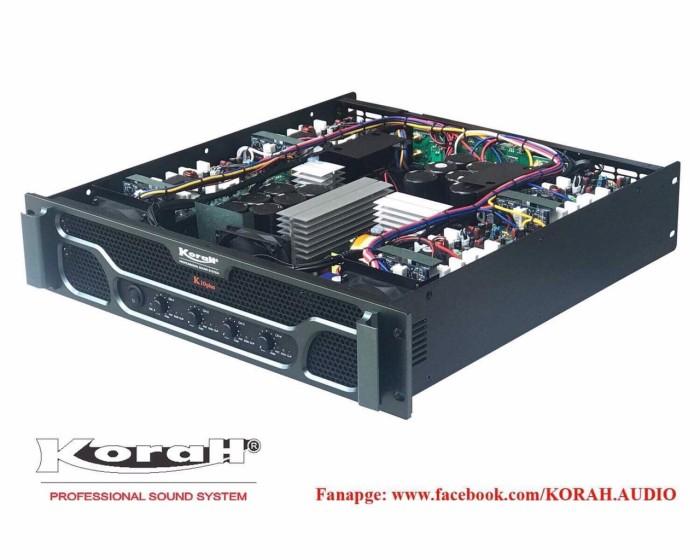 Đẩy 4 kênh KORAH K10plus nguồn xung chính hãng2