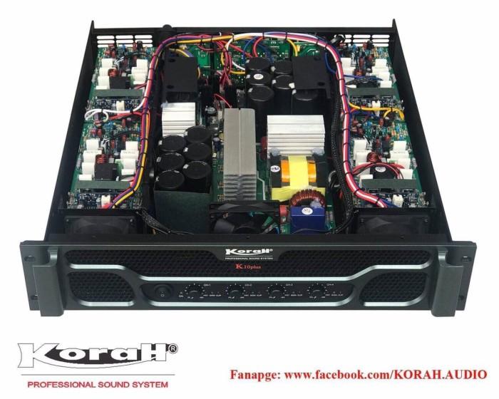 Đẩy 4 kênh KORAH K10plus nguồn xung chính hãng3