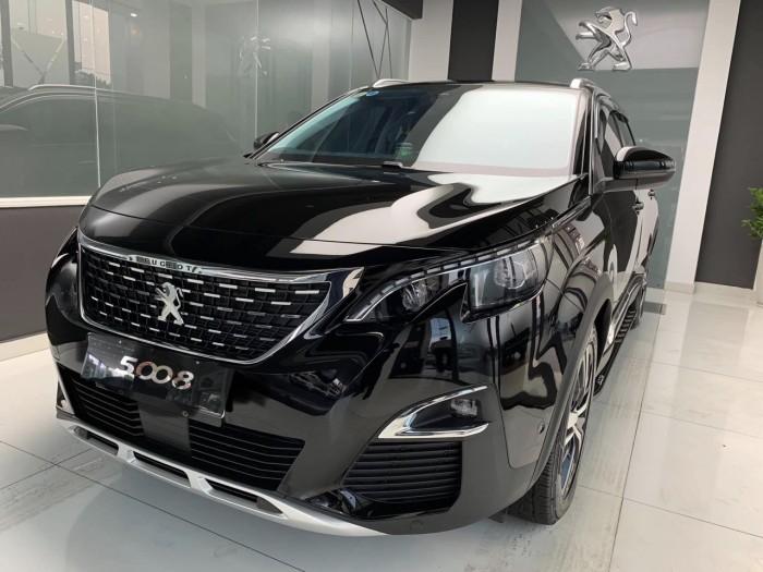 Xe 5008 Đen KTV 2019 tại Peugeot Lạng Sơn 4
