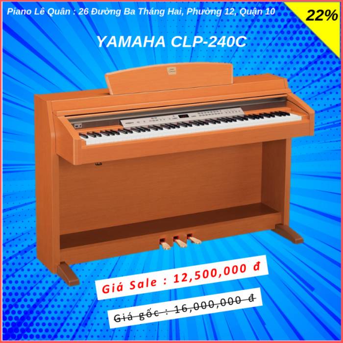 Piano Yamaha CLP-240C0