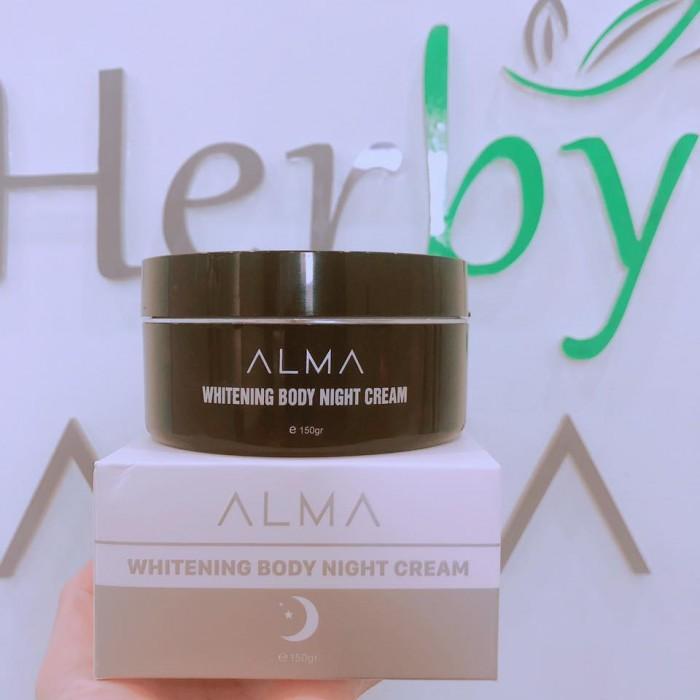 Kem Dưỡng Trắng Da Toàn Thân Ban Đêm Alam Whitening Night Cream