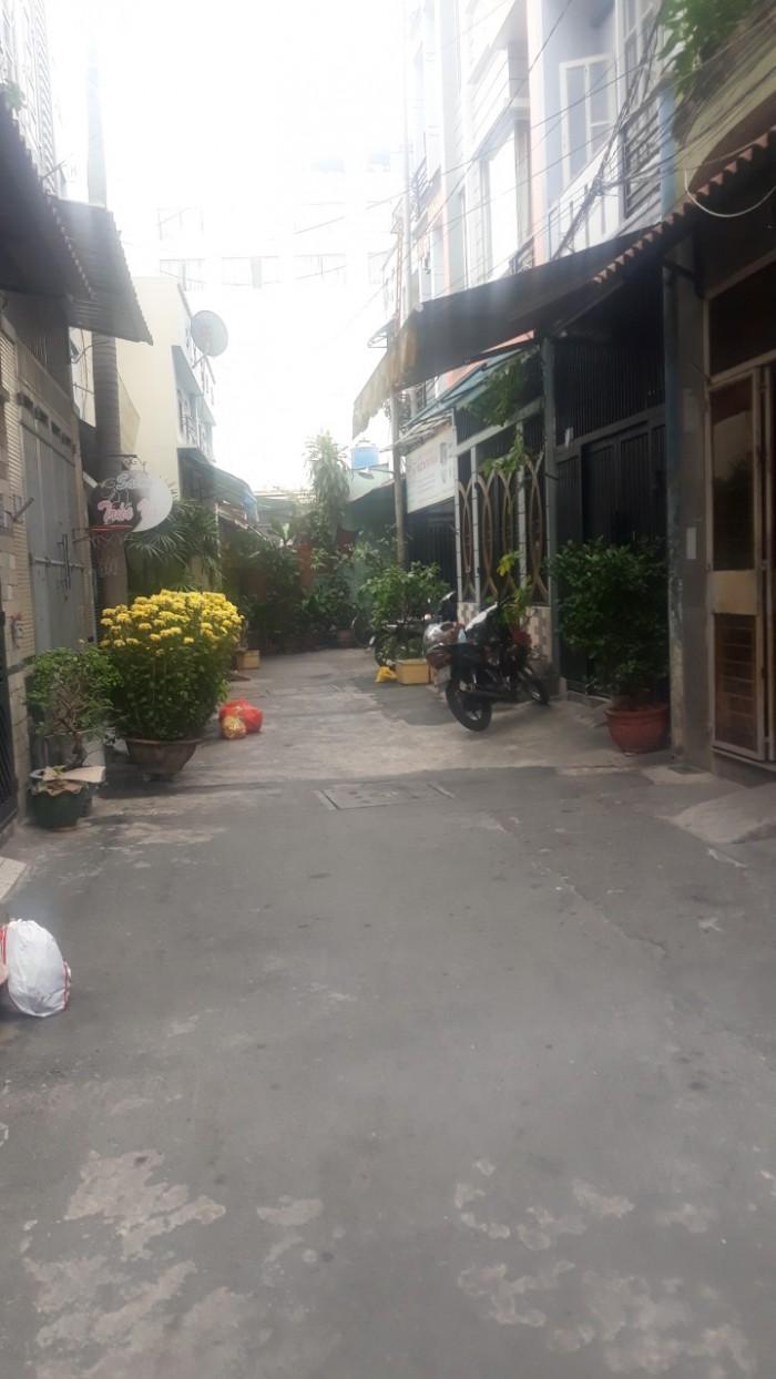 Bán nhà hxh 4x12m vuông vức cấp 4 đường Sơn Kỳ Q. Tân Phú