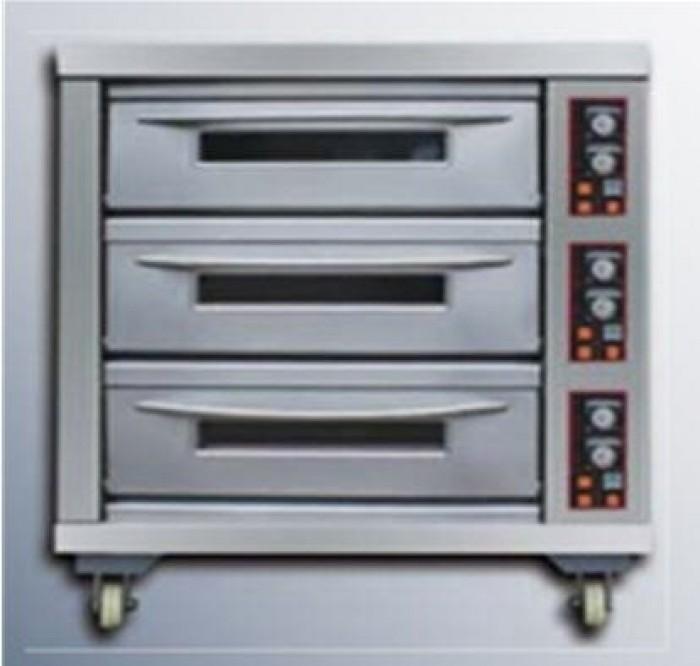 Lò nướng nướng điện 3 tầng Berjaya BJY-E20KW-3BD0
