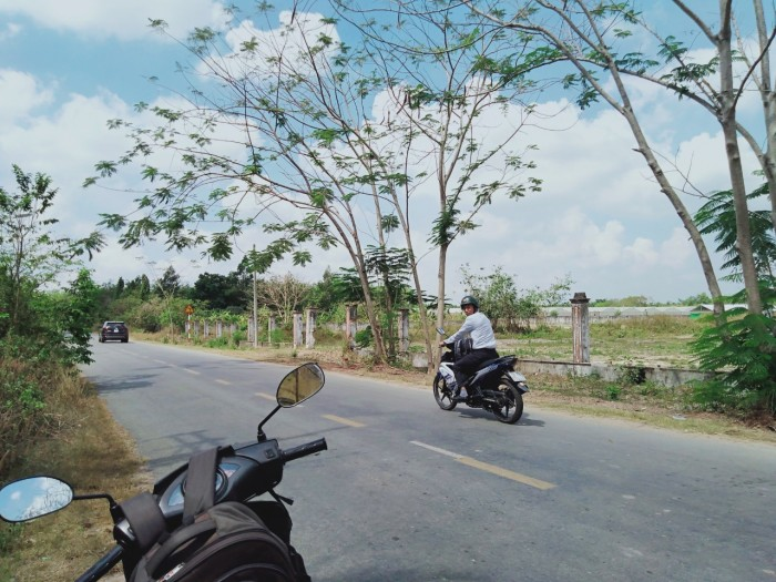 Bán Đất Củ Chi  , SHR, mặt tiền đường Bà Thiên -Phạm Văn Cội, nhận đất