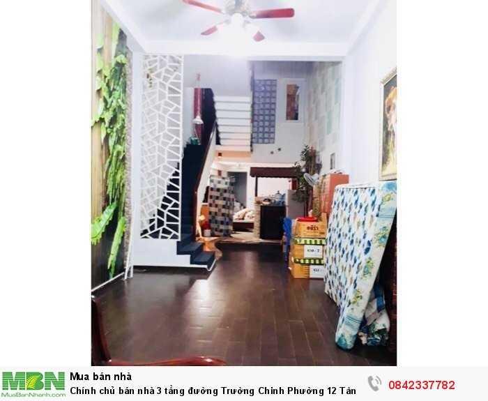 Chính chủ bán nhà 3 tầng đường Trường Chinh Phường 12 Tân Bình.
