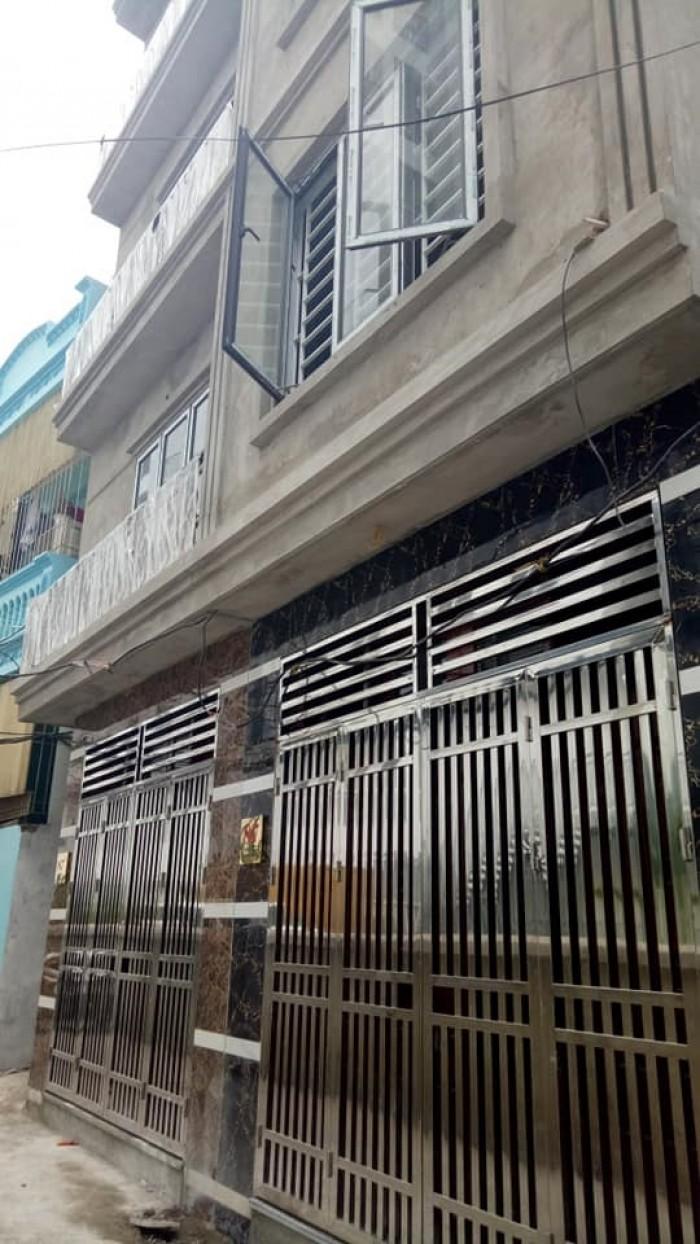 Nhà 4.5 tầng mới coong oto đỗ cửa Minh Khai 35 Mặt tiền 3.5m
