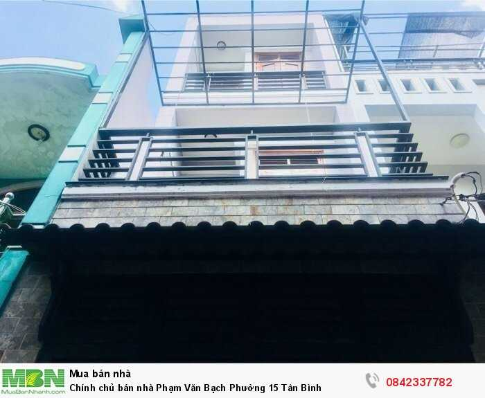 Chính chủ bán nhà Phạm Văn Bạch Phường 15 Tân Bình