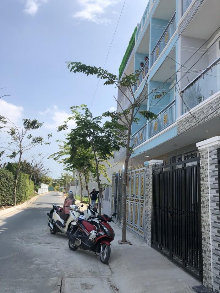 Bán nhà KDC Anh Tuấn Green Riverside đường Huỳnh Tấn Phát, Nhà Bè, DT 3.3 x 13m, 3 lầu