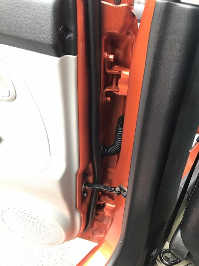 Bán ô tô Kia Morning slx đời 2008, màu cam, nhập khẩu